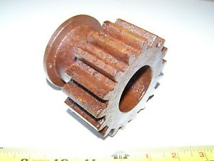 Original Fordson Tractor Low Gear Transmission Pinion Hit Miss Gas Engine Steam