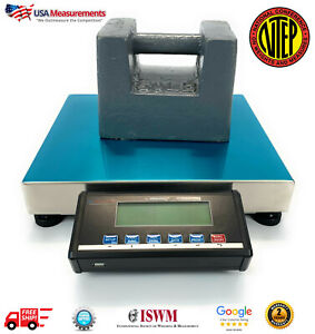 Us ls150 Portable Shipping Scale With Usb Ntep Legal For Trade 150 Lb X 05 Lb