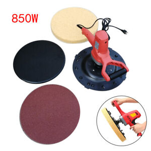 850w Concrete Cement Mortar Electric Trowel Wall Smoothing Polishing Machine Hot