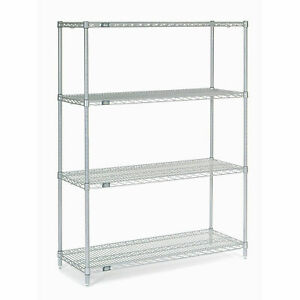 Chrome Wire Shelving 42 w X 18 d X 54 h
