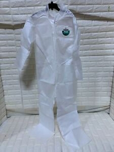 Protective Suit Lakeland C9412 Sleeve Coverall Collar No Hood Size L One Piece
