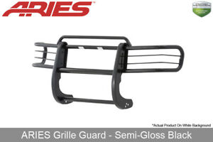 Grille Brush Guard Front 1pc Aries Black Semi Gloss For 1998 2000 Ford Ranger