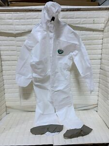 Protective Suit Lakeland Coveralls M3p414e 5xl 6xl Micromax 3p Hood And Boots