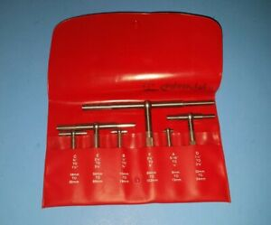 starrett 6 Pc Telescoping Gage Set S579h Plastic Case Nice