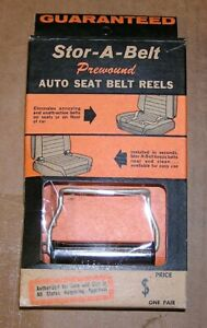 Vintage Seat Belt Retractor Reels Free Shipping In Usa