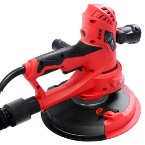 Electric Handheld Drywall Sander 710w Variable Speed Control W vacuum Led Light