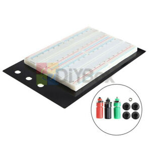 Large Zy 204 Solderless Breadboard Protoboard Tie point 1660 With Banana Jacks