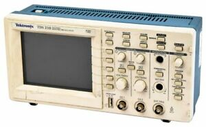Tektronix Tds210 60mhz Dual channel Digital Real time Oscilloscope Unit