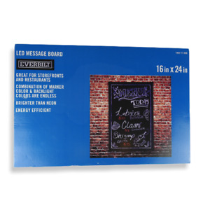 Everbilt Led Message Board With All Attachments