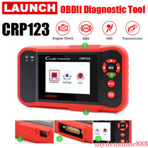 Launch Crp123 Obd Diagnostic Tool Car Reader Scanner Engine Transmission Abs Srs