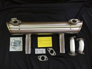 Vintage Speed Porsche 356 Replica Sport Exhaust Heat Riser Vw Type 1 Engine