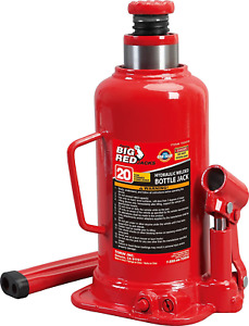 Torin Big Red Hydraulic Bottle Jack 20 Ton 40 000 Lb Capacity