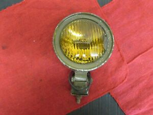 Vintage Military Jeep Scout Tractor 4 Fog Lamp 1940 S 1950 S 1960 S