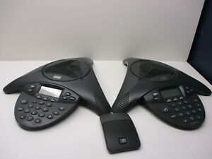 Lot Of 2 Cisco Polycom Cp 7936 Cp 7935 Ip Conference Station Phone Base Only