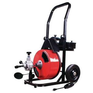 1 2 In X 50 Ft Power Feed Drain Cleaner Machine