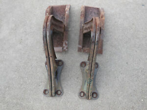1937 1938 Plymouth Chevrolet Coupe Trunk Lid Hinges Oem