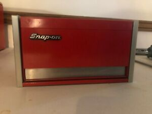 238 Snap On Red Mc923 Mini Micro Top Chest Tool Box Rare Brand New