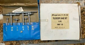 Central Tools 51 470 006 6 Piece 1 2 To 6 Telescoping Gauge Set G124