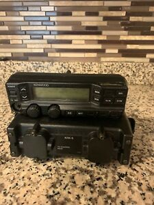 Kenwood Tk 690h Lowband 160ch Mobile Radio 110w 35 43 Mhz W Display Head