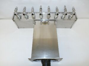 Perlick Century 8 Faucet Stainless Steel Beer System