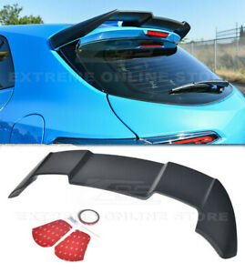For 19 up Toyota Corolla Hatchback Jdm Rear Roof Window Wing Spoiler Abs Plastic