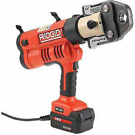 Ridgid 174 Rp 340 Corded Press Tool Kit W propress Jaws 1 2 1 43368