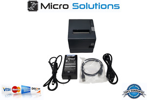 Tm t88v Epson M244a Receipt Printer Rs232 W Ps 180 Power Supply And Usb Cable
