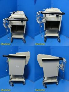 Hewlett packard 1517 a 1517a Electrocardiograph ecg Machine W Cable 20794