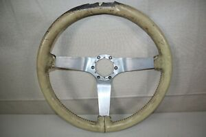 Original Gm Steering Wheel 1968 82 Corvette Polished Spokes 14 1 4 Inches