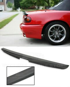 For 90 97 Mazda Miata Mx5 Abs Plastic Rear Trunk Lid Wing Kg Works Style Spoiler