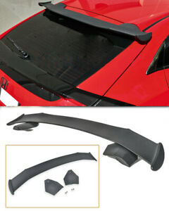 For 16 Up Honda Civic Hatchback Spoon Style Rear Roof Wing Spoiler Fk4 Fk7 New