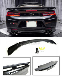 For 16 Up Chevrolet Camaro Zl1 Factory Style Abs Plastic Spoiler Rear Trunk Lid