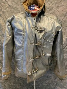 Jacket Firefighter Size 48 Aluminized Turnout Bunker Fire Gear b 08