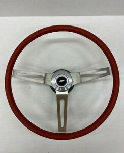1969 1970 1971 1972 1973 1974 Chevelle Comfort Grip Steering Wheel Kit Red