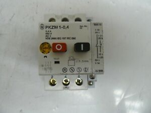 Moeller Pkzm 1 0 4 Motor Starter With Nhi 11 Auxiliary Switch