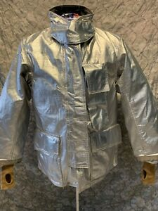 Jacket Firefighter Size 38 Aluminized Turnout Bunker Fire Gear Nice b 18