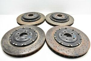 2015 Nissan Gt R Brake Rotor Set Front Rear Rotors 15