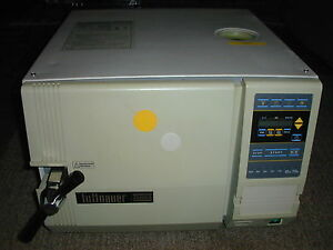 Tuttenauer 2340a Automatic Autoclave Excellent Medical Dental Veterinary