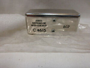James C 4615 Micro scan Relay New