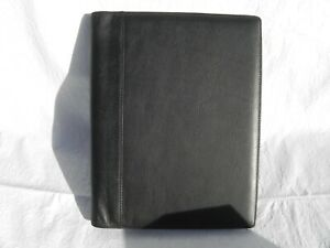 Levenger Leather Folio Portfolio Notebook Cover Organizer
