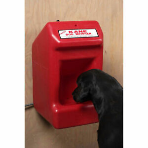 Kane Heated Dog Waterer Red Kdw h