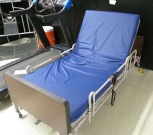 Patriot Series Hospital Home Care Bed With Side Rails 690 7104 902 Used