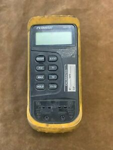 Omega Hh12 Thermocouple Meter Thermometer