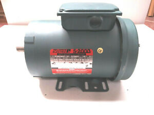 Reliance P14h1420t Ac Motor 1 1 2 Hp 3 Phase 1730 Rpm 230 460 V Tefc