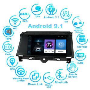 For 2008 2012 Honda Accord Car Android 9 1 Radio Stereo Gps Mp5 9 Touch Screen