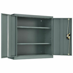 Assembled Wall Storage Cabinet 30x12x30 Gray