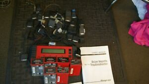 Snap On Mt 2500 Scanner Adapters Battery Pac Manuals Cartridges And Cables
