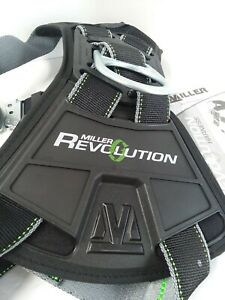 Miller Revolution Rdt qc mbk Full Body Tower Climbing Harness Large x large
