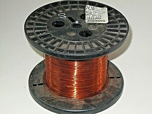 26 Awg Essex Magnet Wire Enameled Heavy Build 200 Degree Celsius 1 5 Lb Spool