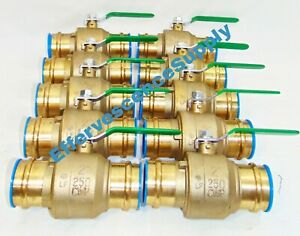 lot Of 10 2 Propress Brass Ball Valves Press Brass Ball Valve Lead Free